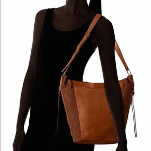 Lucky Brand leather / suede bag like new